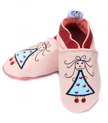 chausson cuir princesse.