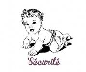 Sécurité des Chaussons bébé en cuir.