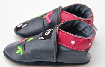 Chaussons en cuir liberty lilipinou.