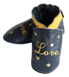 Chaussons en cuir my Love