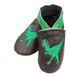 Chaussons en cuir Dinoco.