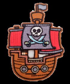 Ecussons Pirate