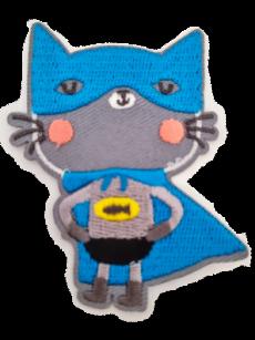Ecusson Super souris bleu